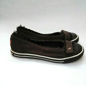 Rocket Dog Brown Ballerina Sneaker Flats